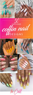 Best Coffin Nail Designs 2019 50 Awesome Coffin Nails Designs Youll Flip For In 2020