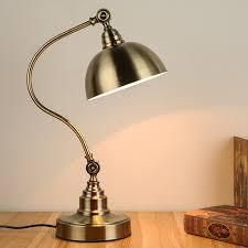 dressing table lighting. table light study dressing retro antique bronze desk lamp bedroom bedside lamps iron eye style lighting