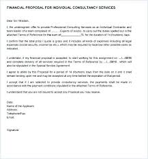Technical Offer Sample Financial Proposal Template Finance Of Unicef Financial