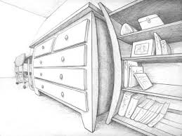 simple architectural drawings. Four-point-perspective Simple Architectural Drawings T