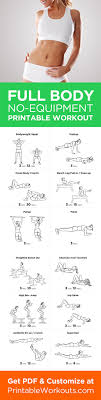 collection printable workout routines for women at home photos