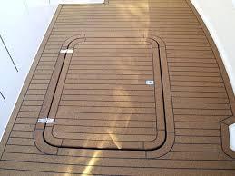 interesting faux teak flooring and boat synthetic deck plastic floor