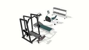 Gym Equipment | 3D Warehouse