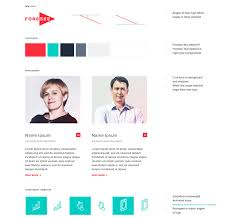 Web Design Separating Content Redesign A Website For A Leading B2b Brand In Customer