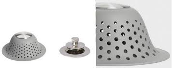 oxo good grips silicone drain protector for pop up regular drains