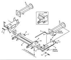 meyer snow plow mount 1995 2002 dodge 1500 ez classic tube style genuine meyer 17159 ez plus plow mount 2004 2012 dodge dakota durango 4wd