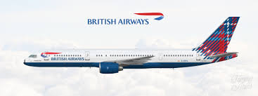 British Airways Boeing 757 200 Colouring The Sky Real