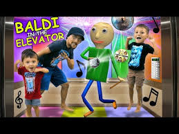 Fgteev Vending Machine Awesome ? BALDI PARTY IN THE ELEVATOR? BALDI Goes CAMPING W FGTEEV In
