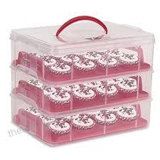 36 Cupcake Carrier Impressive Amzdeal Cupcake Carrier 60 Tier Cupcake Storage Container 606 Cupcake