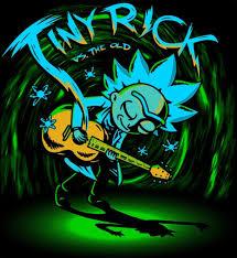 Rick And Morty Light Up Poster Rick And Morty Tiny Rick Rick Morty Rick I Morty