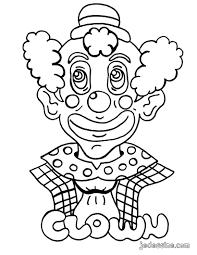 Coloriages Clown Colorier Fr Hellokids Com