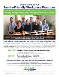 business roundtable on family friendly workplace policies