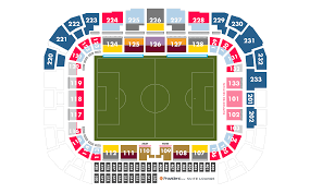 Seating Map New York Red Bulls