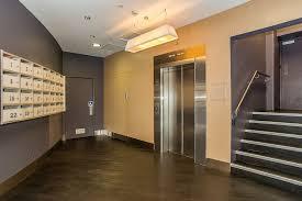 Residential apartment foyer.