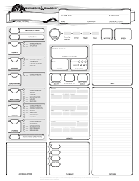 dnd 3 5 character sheet how to play d d on a shoestring budget character sheet alt and