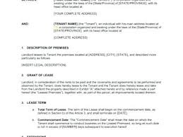 Commercial Lease Agreement Office Template Form Templates – Peero Idea