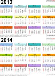 printable year calendar 2013 2013 2014 calendar free printable two year word calendars