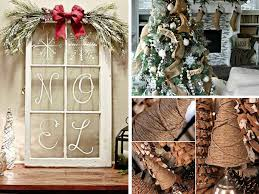 21 easy diy christmas decoration ideas rustic style