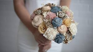 wood bridal bouquets that are perfectly lifelike by eco wood