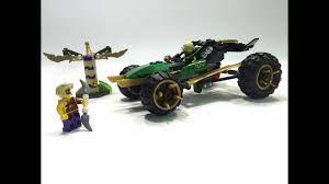 ninjago - lego ninjago - xe chien dau ninja xanh la - YouTube