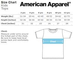 American Apparel Measurement Chart Ouija Board T Shirt Sold By Little Creeps