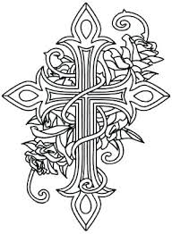 Cross Coloring Pages Cross Coloring Pages Cross Coloring Page