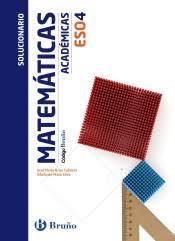 Portada De Código Bruño Matemáticas Académicas 4 ESO Solucionario :  Propuesta Didáctica Del Profesor : Aragón