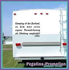 Hochwertige Wohnwagen Wohnmobil Aufkleber Camping Ist Der