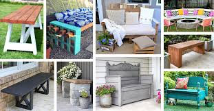27 outdoor diy benches you can build it yourself