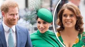 Meghan markle and prince harry couldn't be more adorable at princess eugenie's wedding. How Princess Eugenie Felt About Meghan Markle Prince Harry Sharing Their Baby News At Her Wedding Revealed Fox News