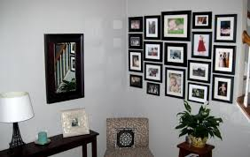 ... How To Decorate Your Stunning Rooms By Arranging Photos On Wall :  Contemporary Living Room Decoration ...