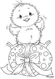 Easter Coloring Book Images L