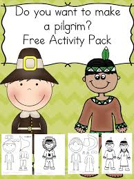 Make a Pilgrim Activity - Free cut/paste activity for kids! | Free ...
