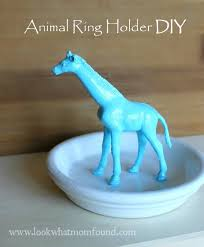 animal ring holder diy