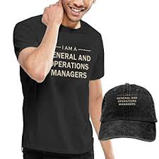 General And Operations Managers Amazon Com X Jusen Mens I Am A General And Operations