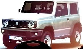 2018 suzuki jimny. brilliant suzuki suzuki jimny 2018 exterior interior images leaked could launch in india  as maruti gypsy replacement to suzuki jimny