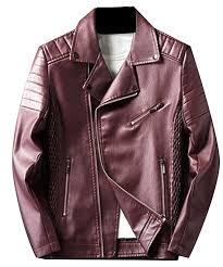 black leather coat for men