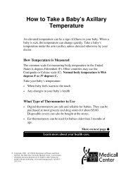 Taking A Temperature
