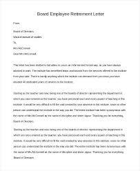 9 Retirement Letter Templates Word Free Premium Template