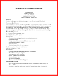 clerk resume objective template clerk resume objective