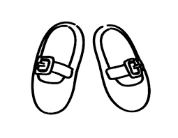 Snowboots gloves and hat coloring pages. Kid Size Ballerina Shoes Coloring Pages Bulk Color