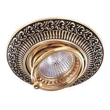 Встраиваемый <b>светильник NovoTech</b> Vintage 022 <b>370017</b> купить ...