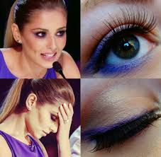 2016 x factor she wore a gorgeous smoldering purple smokey eye with a nice pink lip it looks plicated but it is actually really easy to create