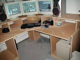 diy corner computer desk top computer desk plans that really work for your home office
