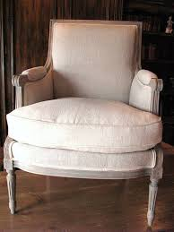 antique linen upholstery french chair by antique vintage european textiles