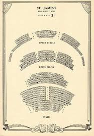 St James Theater Seating Chart Amazon Com St Jamess Theatre King Street London