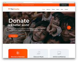 How To Design A Charity Website The Charity Free Html Charity Website Template 2020 Colorlib