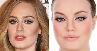 remain calm adele s makeup artist released an official video tutorial on how to do her eyeliner someecards celebrities