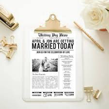 Custom Newspaper Template Wedding Newspaper Templates 7 Word Pdf Psd Indesign Format