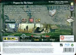 fallout 3 collector x27 s edition playstation 3 back cover